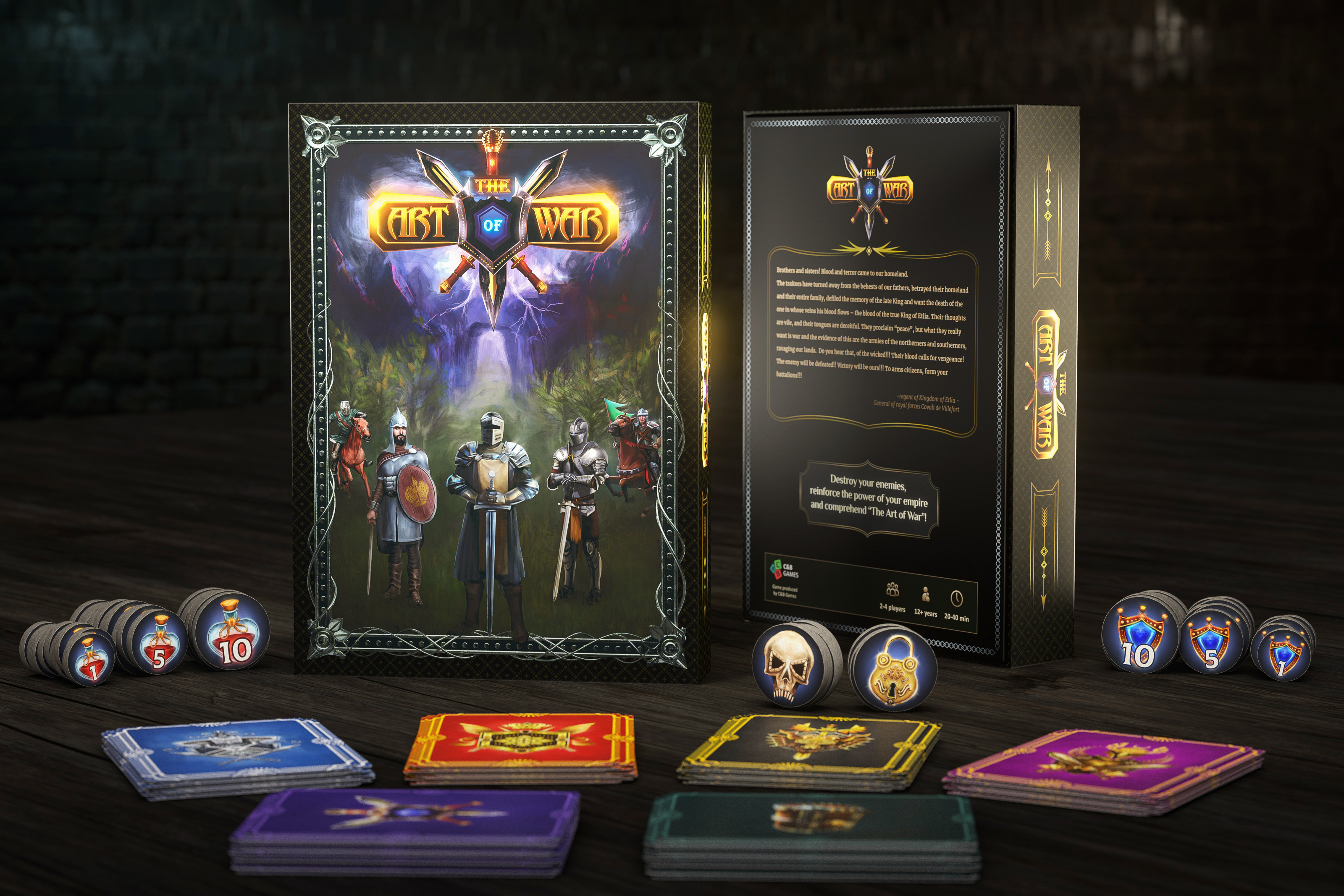 The Art Of War: Card Game
